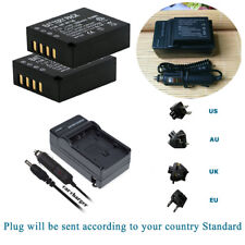 2x NP-W126 Battery &Charger FOR Fujifilm X-E1 Finepix HS30EXR HS33EXR HS50EXR
