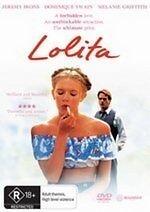 Lolita (1997) * NEW DVD * Jeremy Irons Dominique Swain (Region 4 Australia)