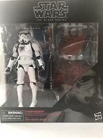 "Star Wars Black Series 6"" Stormtrooper With Blast Accessories TRU Exclusive NIB"
