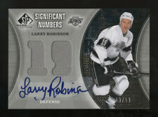2009-10 UD SP SN-LR SIGNIFICANT NUMBERS LARRY ROBINSON AUTOGRAPHED SIGNED 13/19