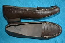 HOMY PED Spirit RRP$149.95 Brown Size 9.5 LEATHER SHOES.NEW. Comfy FLAT SOLE