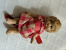 """Antique 1920'S Japan Porcelain 3-1/2"""" Miniature Dbl Jointed Baby Doll!"""
