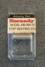Hornady FTX Seating Stem 44 Caliber-.430 Dia/ 265gr-(397117) NIP