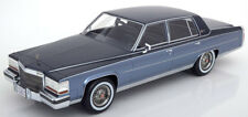 1982 Cadillac Fleetwood Brougham Light Blue/Dark Blue by BoS Models LE 504 1/18