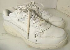 SFC Shoes for Crews Falcon White Slip Resistant Mens Shoes 6107 Sz 10