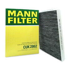 For VW Golf Jetta Beetle Audi TT Quattro Cabin Air Filter Charcoal Mann CUK2862