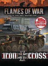 FW247U IRON CROSS UNIT CARDS - FLAMES OF WAR - WW2 - NOW