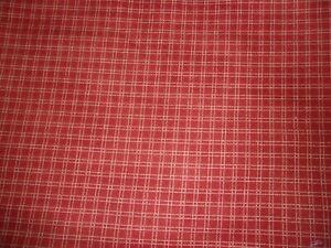 2 YARDS Farmhouse Living 1830 Jeanne Horton Brown Check Windham Quilt Cotton