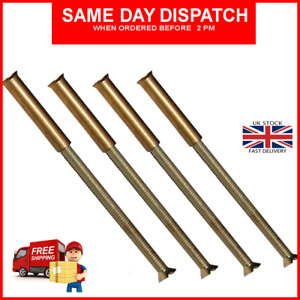 M3 x4 BRASS SCREWS CONNECTING BOLTS SLEEVES FOR DOOR HANDLES ROSES ESCUTCHEONS