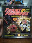 Vintage Transformers Generation 2 SNARL Red Hasbro Action Figures nip