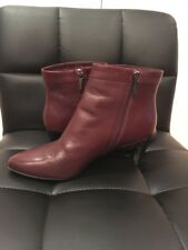 44574541ade Kenneth Cole New York Leather Booties Size 8M