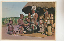 Rep.of South Africa,Zulu Natives,Semi-Nude,Ethnic,Used,2 RSA Stamps,c.1960s