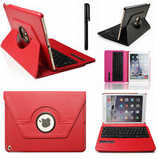 Bluetooth Keyboard 360 Rotating Leather Smart Cover Stand Case For iPad 4 3 2