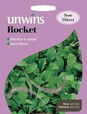 Unwins Pictorial Packet - Herb Rocket - 600 Seeds