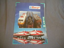 496B Roco HO 1:87 Katalog 24 Pages 1/87 Jahr 1991 Stempel Laden-