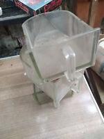Glasschütte, Einschub;Gewürzschub:14,5 x 10 x 21 cm
