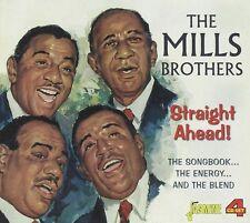 THE MILLS BROTHERS - STRAIGHT AHEAD 4 CD NEU