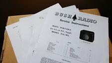 Bush DAC90A Service Instructions