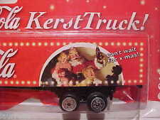 Kenworth Coca-Cola Xmas Christmas Truck 1/87 H0 Diecast Dutch Issue Mint on Card