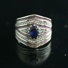 Turkish Handmade Jewelry Sterling Silver 925 Amethyst Ladies Ring