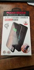 TZUMI POCKETJUICE HYPER CHARGE 10,000 mAh PORTABLE CHARGER NEW IN BOX