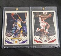 2004 Topps #8 Kobe Bryant & #23 LeBron James!!! LEGENDS ONE TOUCH