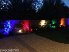 5W MR-16 12v LED BULB::DEEP, RICH, COLORED GREEN, AMBER, BLUE &     CL507 MALIBU