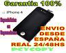 PANTALLA LCD COMPLETA + TACTIL PARA IPHONE 4 4G DIGITALIZADOR CRISTAL NEGRO