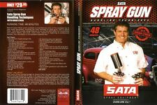 AIRBRUSH ACTION DVD - SATA SPRAY GUN HANDLING TECHNIQUES WITH BRIAN LYNCH