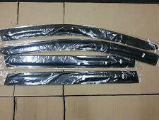 Honda Odyssey 09-12 Weathershields Visors 4pcs Slim Weather Shields Black