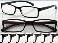 L366 High Quality Lightweight Reading Glasses/Spring Hinges/Simple Classic Style
