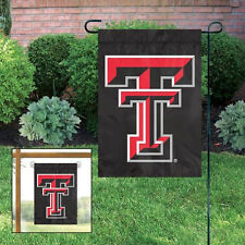 Texas Tech Red Raiders Embroidered Garden Window FLAG