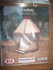 Osborn Model Kits HO Scale Gazebo Kit  RRA-1081 Bob The Train Guy