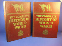 1945 The Complete History of World War II, Volumes 1 & 2 by Francis Miller H/C