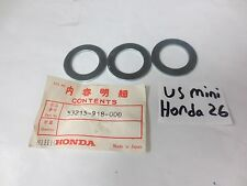NOS Honda 1976-1987 ATC90 ATC110 ATC200 ATC125 Dust Seal Washers Set Of 3