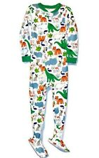 Carter's Boy's 5T Animal and Dinosaur Footed Cotton Pajama Sleeper
