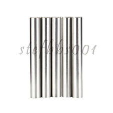 5Pcs D8 60L Tungsten Carbide Round Cemented Rod Blanks for Routers, Drills etc