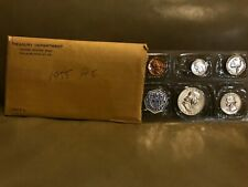 1955 Proof SET, ALL SILVER COINS, Much desired Set, 1955 Proof Original Envelope