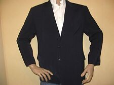 MENS DARK BLUE SINGLE BREASTED SHINY FASHION SUIT & 2 TROUSERS 38S CHEST 30R 32L