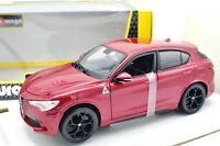 MODELLINO AUTO ALFA ROMEO STELVIO SCALA 1/24 CAR MODEL MINIATURE DIECAST BURAGO