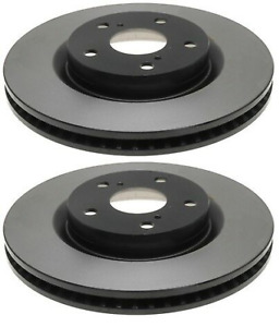 SET OF 2 ACDELCO PROFESSIONAL 18A2448 FRONT DISC BRAKE ROTORS
