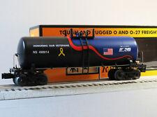 MTH RAIL KING NORFOLK SOUTHERN VETERANS TANK CAR O GAUGE train ns 30-73517 NEW