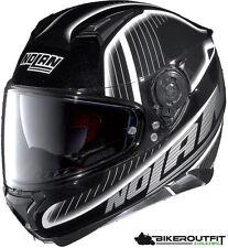 Nolan casco casco de moto n87 harp N-com blanco y negro, talla xxl (63/64)