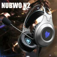 NUBWO N2 Gaming Headphones With Microphone Headphones For PC/PS4/Laptop Headset