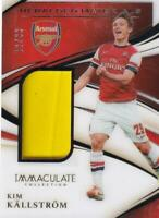 2020 Panini Immaculate Collection Kim Kallstrom Heralded Materials 19/99 Jersey