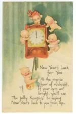 1924 Kewpies New Year - A/S Rose O'Neill