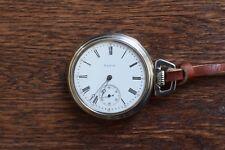 Pocket Watch Size 16 Model 6 Runs Excellent Running Antique 1905 Elgin 17 Jewels