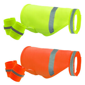 High Visibility Reflective Safety Dog Coats & Dog Ankle Protection Wrister Boots