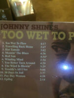 Too Wet to Plow [Digipak] by Johnny Shines (CD--new Fat Possum)