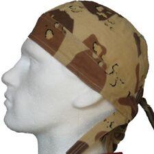 Camuflaje del desierto Beige/brown Bandana du hacer Rag Hat pañuelo casquillo cabido Sol